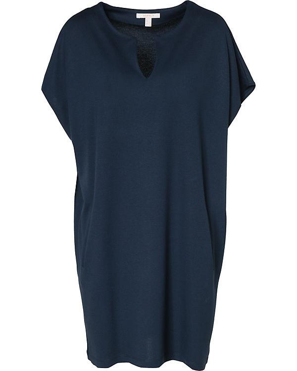 ESPRIT Jerseykleid blau