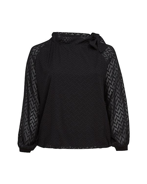 Belloya Bluse schwarz