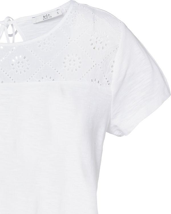 by ESPRIT weiß T edc Shirt CTS7wnq