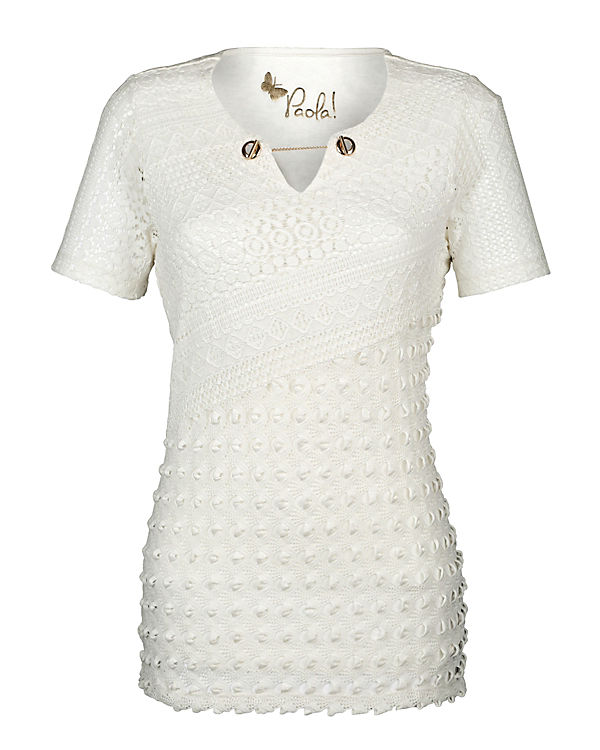 T Paola Paola Shirt T weiß Shirt weiß Paola T Shirt Wv0qY0gw