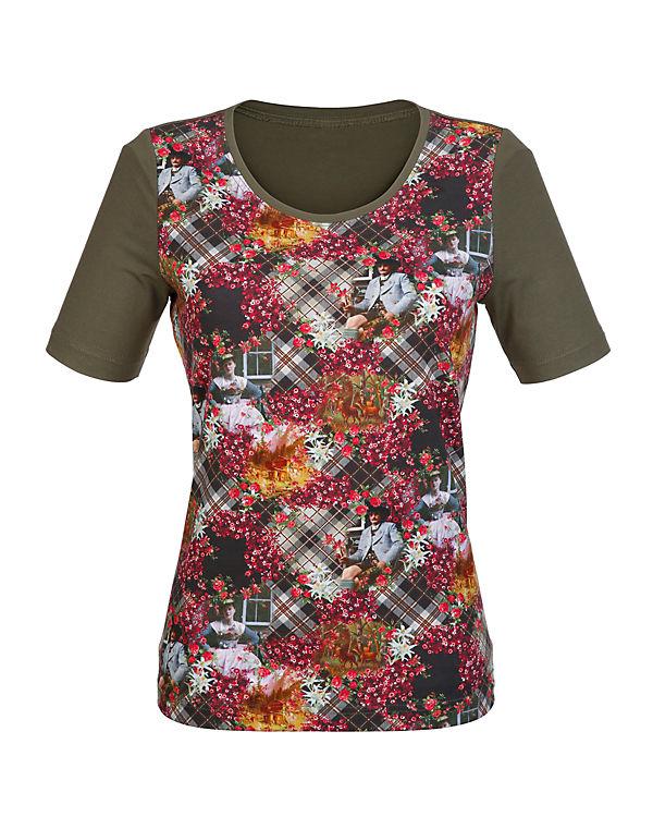 Paola T-Shirt grün Manchester Großer Verkauf jIkZPZo
