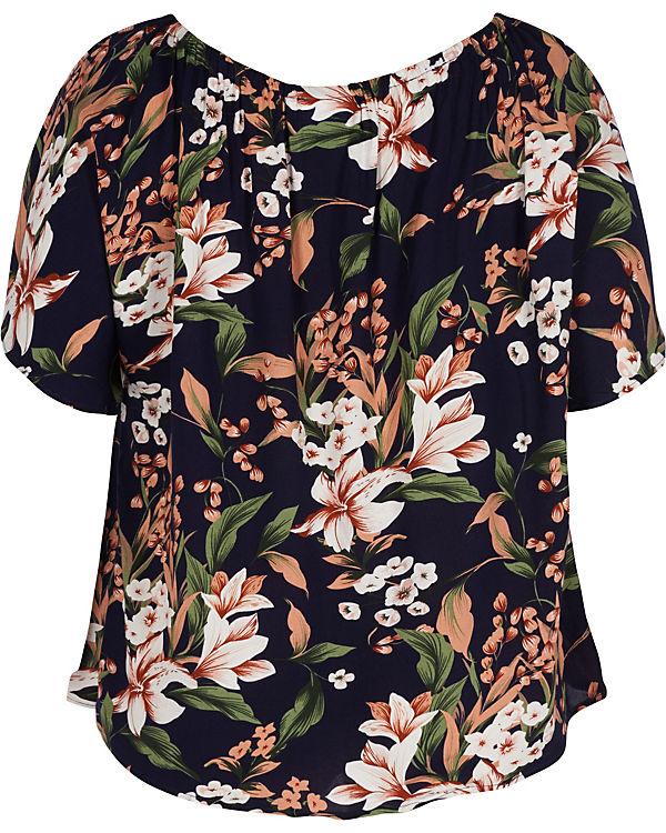 Blusenshirt mehrfarbig mehrfarbig Zizzi Blusenshirt Zizzi Blusenshirt Zizzi 4wFYF6xd