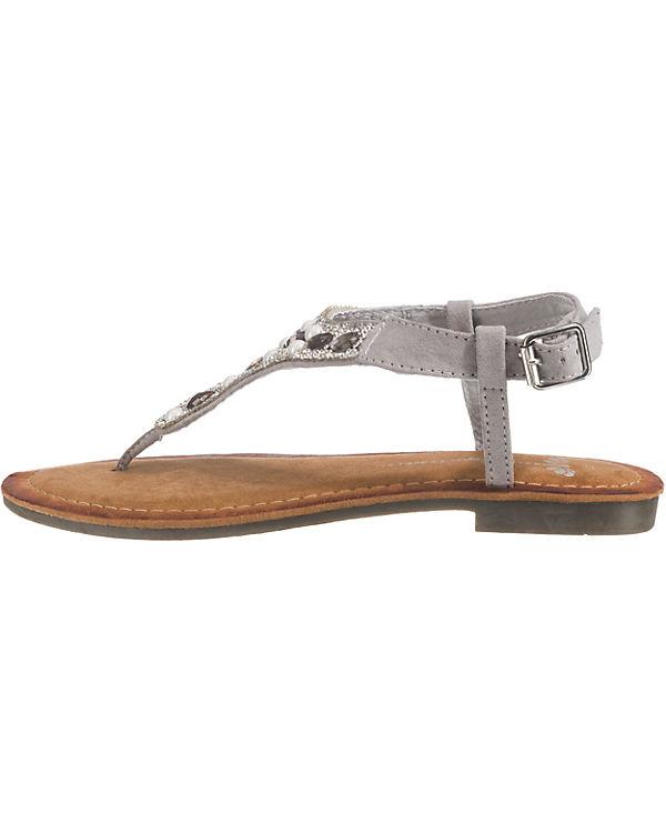 SuperCracks T-Steg-Sandalen grau Günstig Kaufen Verkauf Billig 2oSFQGwHx