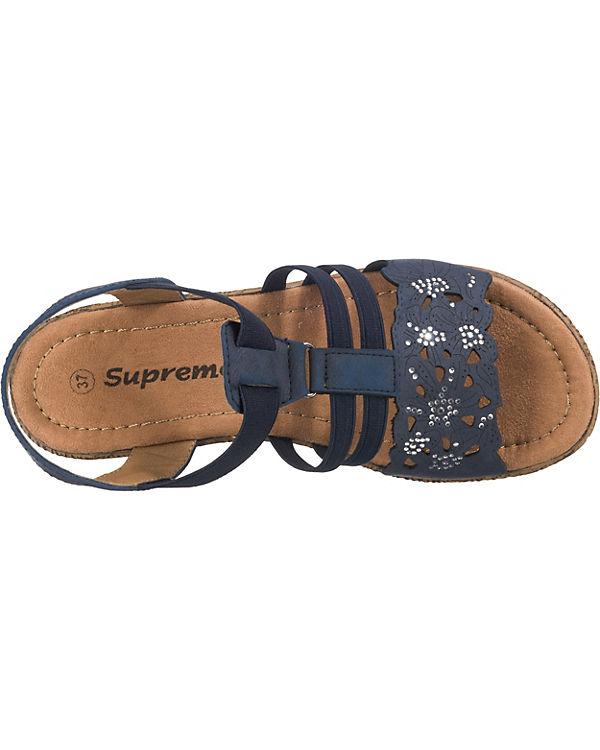 Keilsandaletten Supremo Supremo Keilsandaletten Supremo blau Keilsandaletten blau 5afw0W6qx