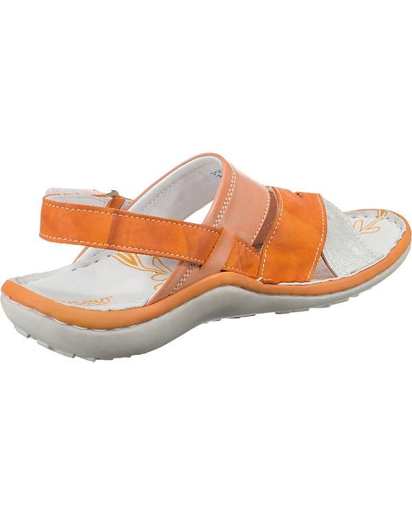 orange Krisbut Klassische Klassische Sandaletten Sandaletten Krisbut W4Hx1qwcS8