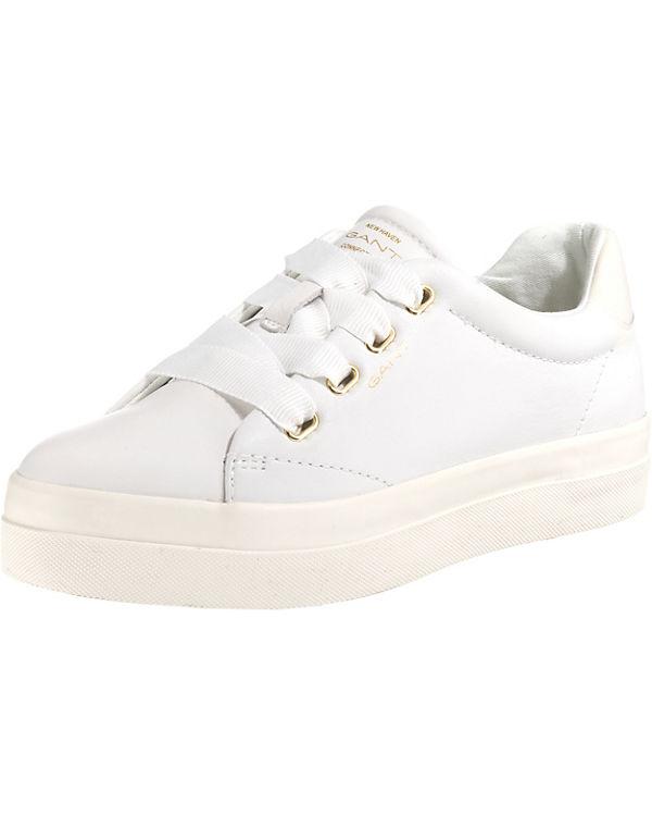 weiß GANT Amanda Sneakers GANT Amanda Low 4RUwYpq