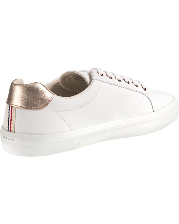 GANT, Mary Sneakers Sneakers Sneakers Low, weiß c9f779