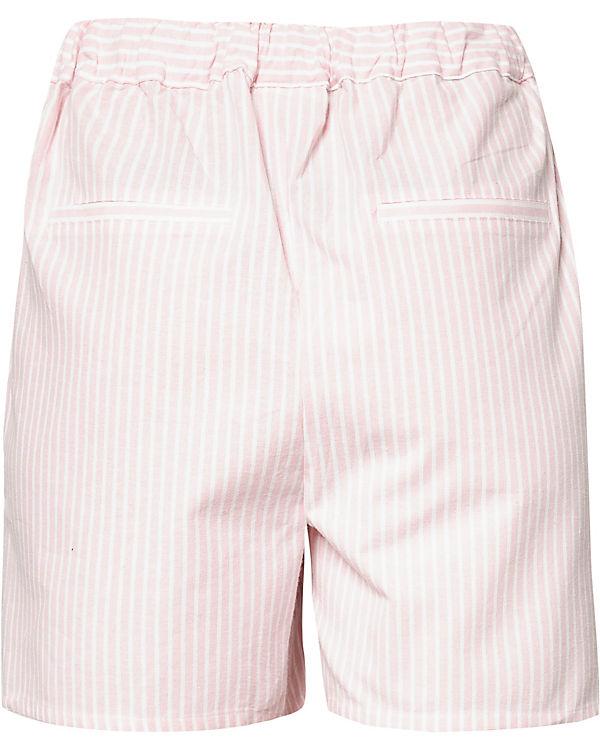 VILA weiß VILA Shorts rosa Shorts UYfxwnx