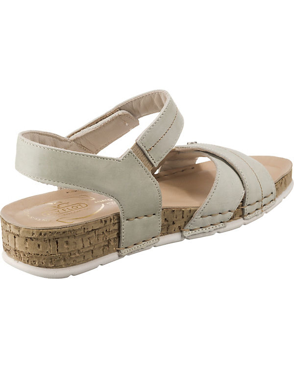 Sandalen beige FLOT Komfort 390918 FLY YFtqOF