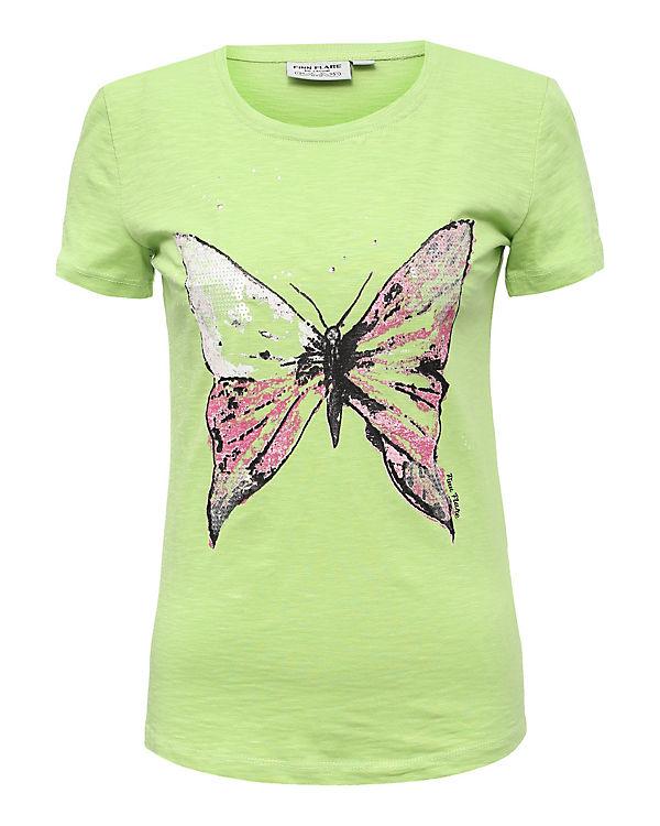 Shirt grün Finn Flare T Flare Finn T 1qgfa