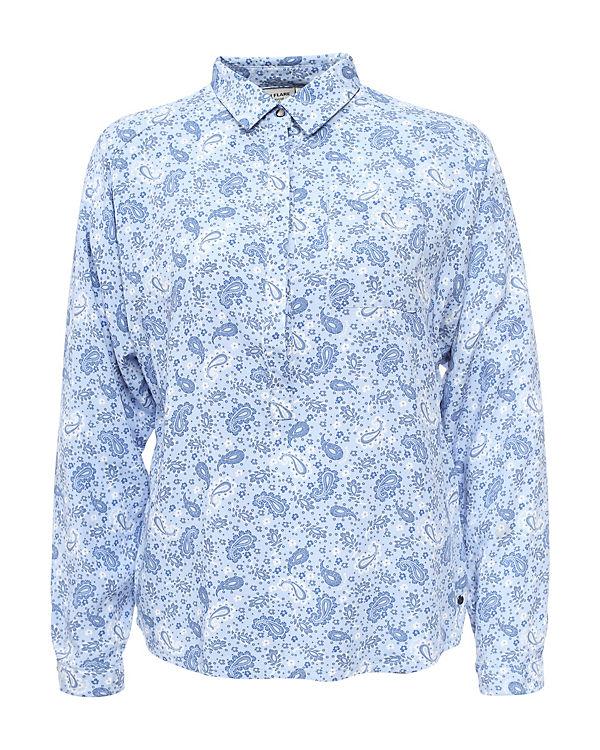 Finn Finn blau Flare Flare blau Bluse Bluse nxBvzt1