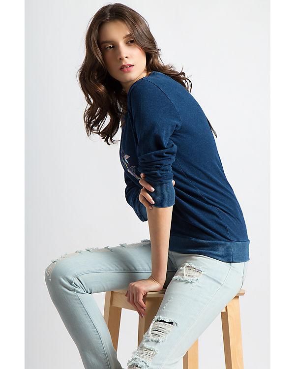 Finn Flare Flare Finn blau Sweatshirt XUdZxq
