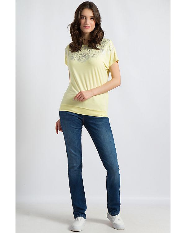 Flare gelb Finn Finn Shirt T Flare T Yqqvrt1