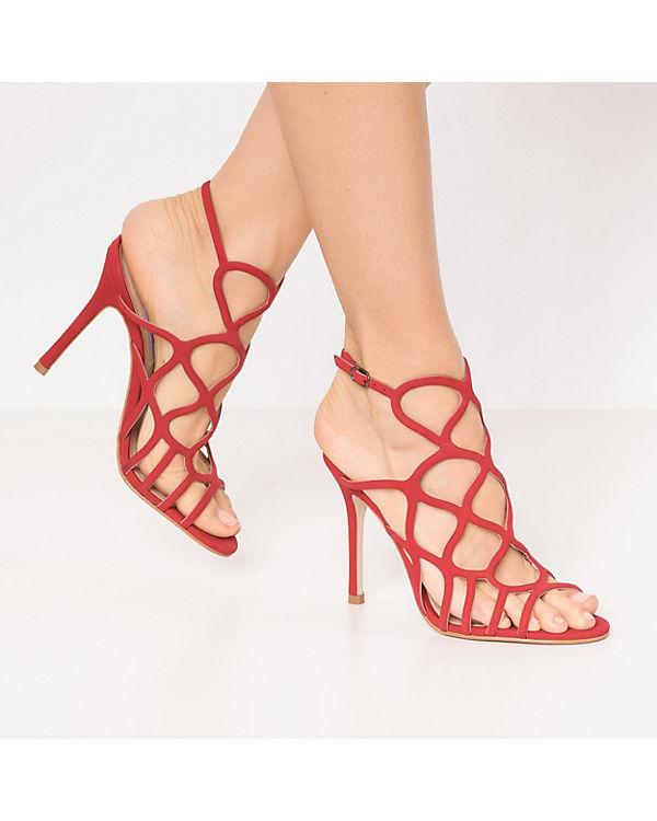 STEVE MADDEN Klassische Sandaletten rot TEAGAN RxAvwRP7q