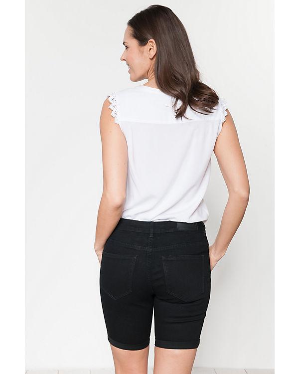 MODA VERO VERO Jeansshorts schwarz schwarz Jeansshorts MODA Jeansshorts schwarz MODA schwarz VERO MODA Jeansshorts VERO rPxqPpt