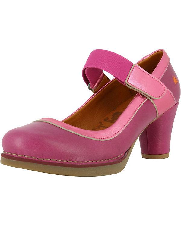 *art 1071 Memphis Magenta / St.Tropez Spangenpumps pink-kombi