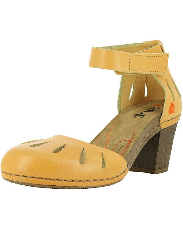 *art 0144 Mojave Vachetta Sun/ I Meet Klassische Sandaletten gelb