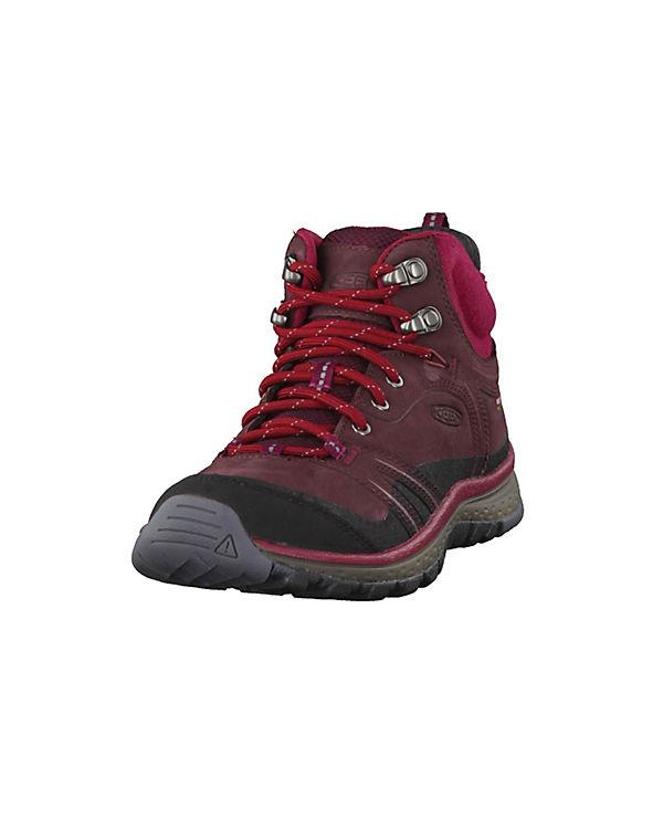 KEEN, Terradora Leather Mid Wanderschuhe, Waterproof 1017752 Wanderschuhe, Mid rot d21e44
