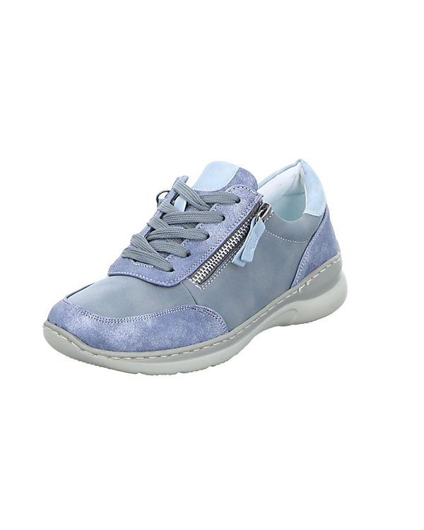 Alyssa 5008-L2 Schnürschuhe blau