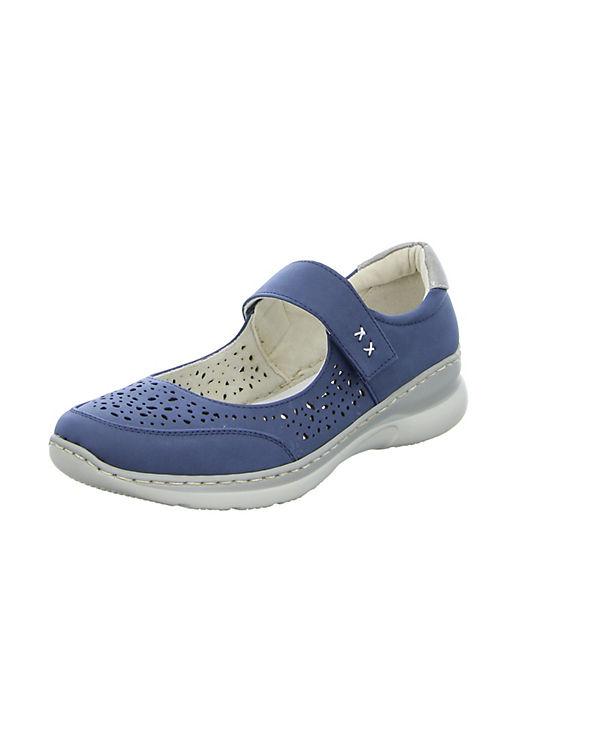 Alyssa 16A5008-30 Offene Halbschuhe blau