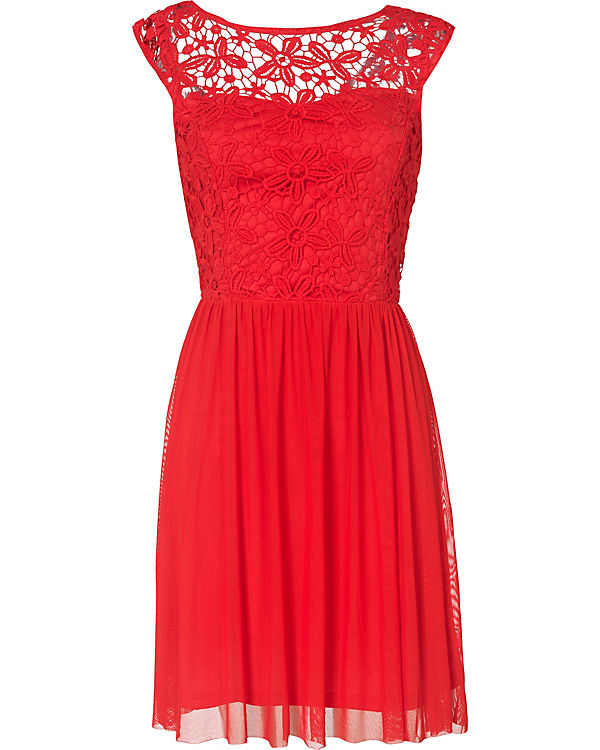 Only kleid rot punkte