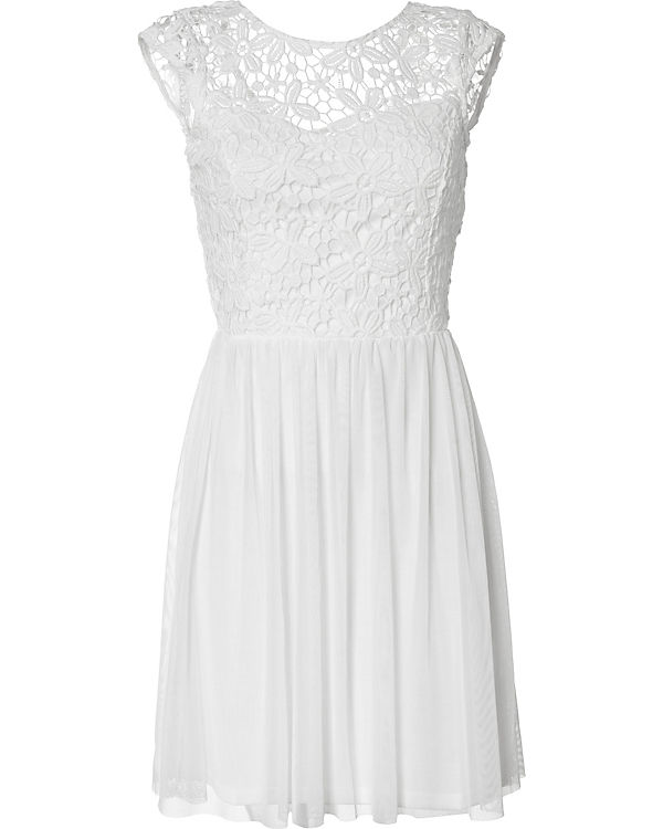 Kleid only weiss
