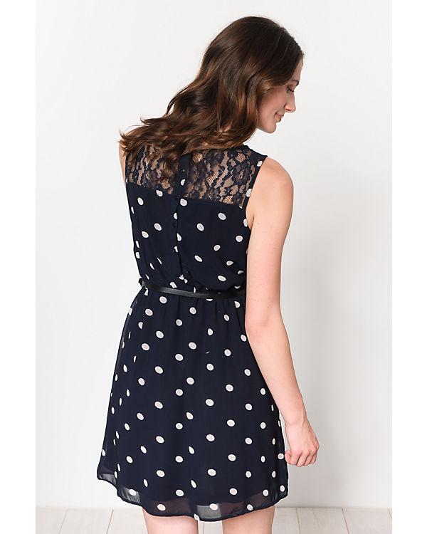 Kleid blau blau ONLY Kleid weiß weiß ONLY Rfxq5fwO7