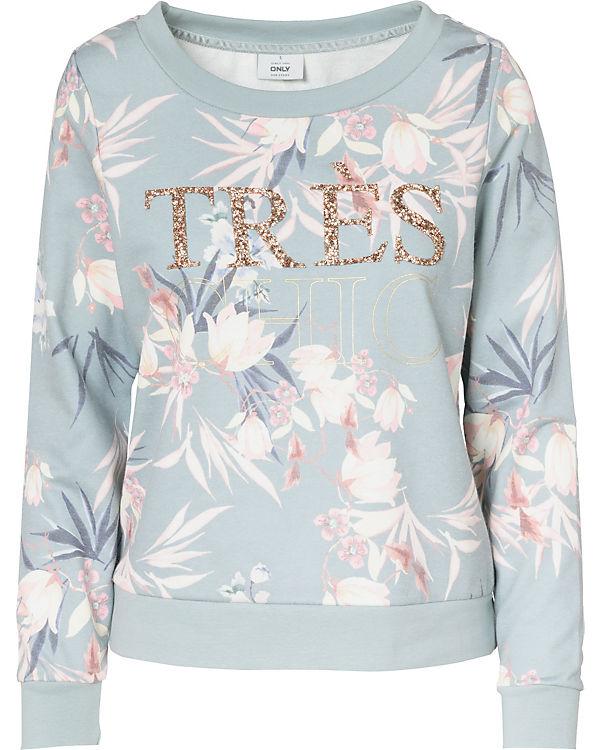 grau Sweatshirt ONLY ONLY grau Sweatshirt grau grau Sweatshirt Sweatshirt ONLY ONLY 6xHT5pqvw