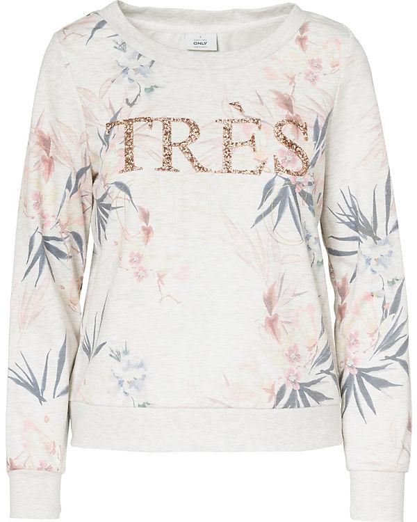 ONLY Sweatshirt ONLY Sweatshirt ONLY ONLY weiß weiß ONLY Sweatshirt ONLY weiß Sweatshirt Sweatshirt weiß weiß Bw8Uwq1a