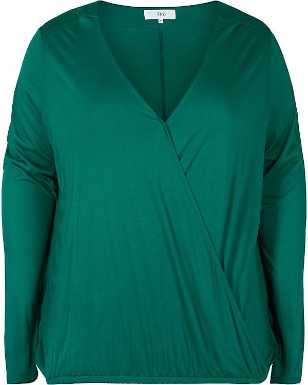 Bluse Zizzi Bluse grün Zizzi 7OIwdxqEw