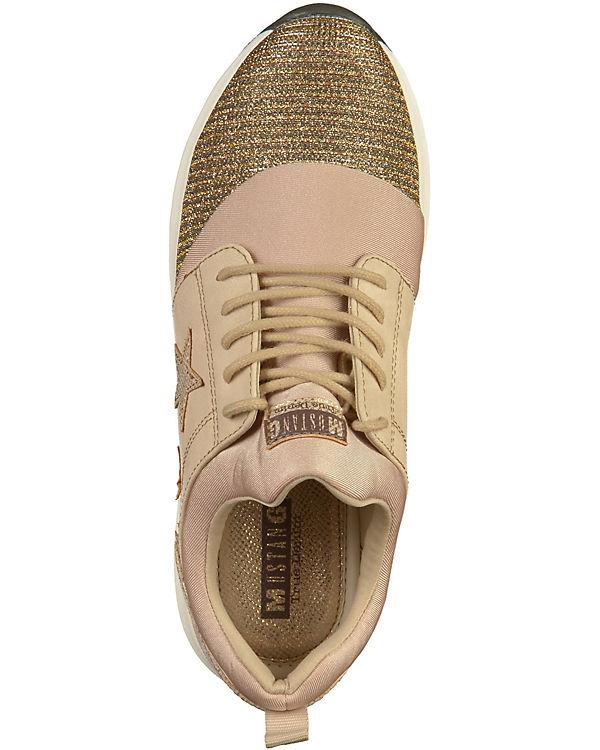 MUSTANG beige Sneakers Low beige Sneakers MUSTANG MUSTANG beige Low Sneakers Sneakers MUSTANG Low adZdx7qW
