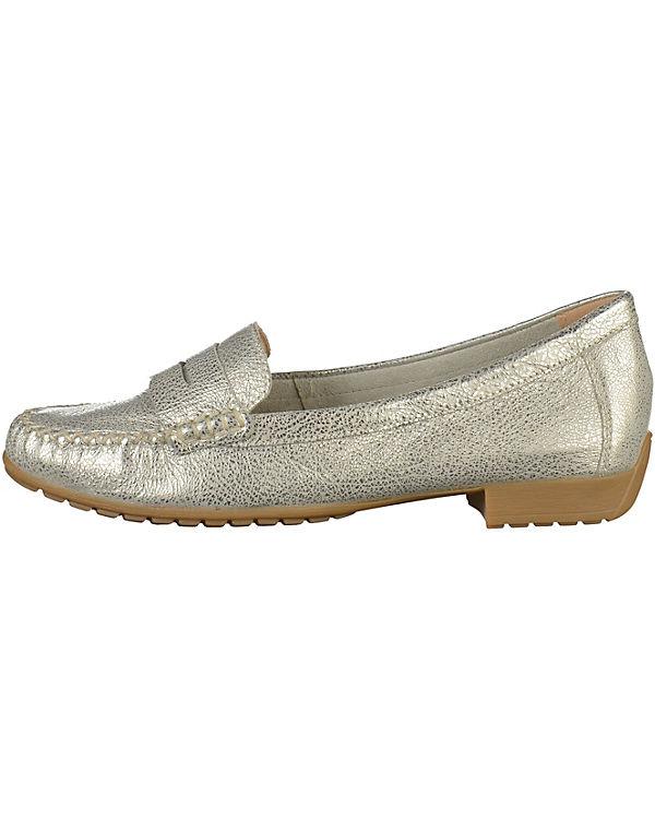 CAPRICE Loafers silber Günstig Kaufen Shop oKwee