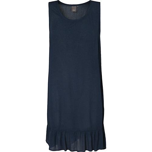 ICHI Sommerkleid Marrakech dunkelblau Damen Gr. 42
