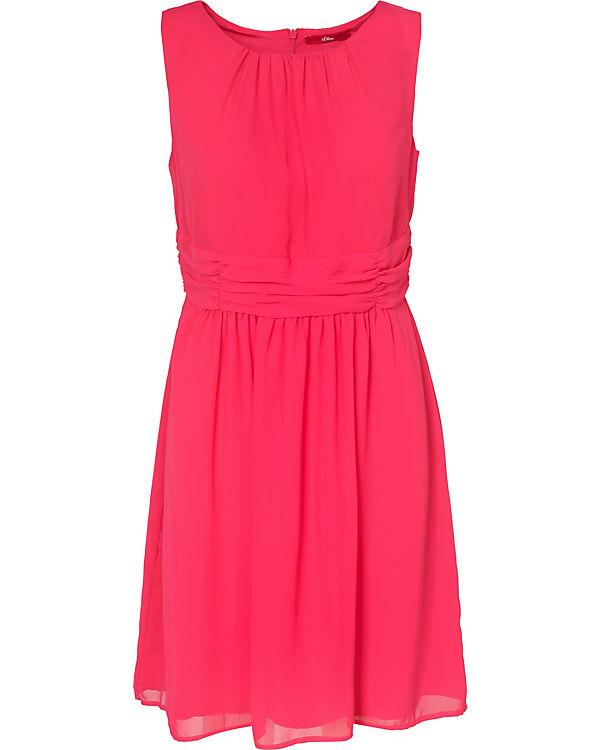 s.Oliver Jerseykleid pink