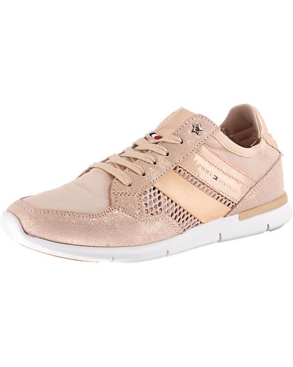 Sneakers TOMMY HILFIGER SNEAKER WEIGHT METALLIC Low rosa TOMMY HILFIGER LIGHT 075nBq