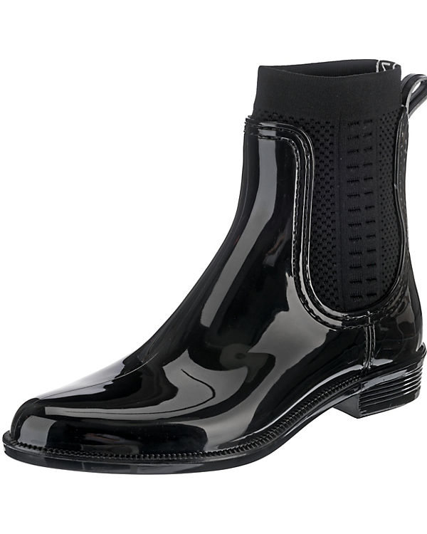 TOMMY BOOT HILFIGER Boots TOMMY RAIN KNIT schwarz Ankle Hw8TPq5