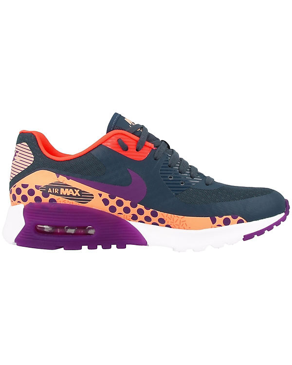 Sportswear Air blau Max Low Nike Sneakers Ultra BR 90 Print dF5wq