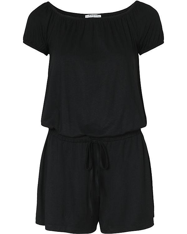 pieces Jumpsuit schwarz