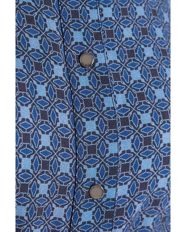 Blusenkleid Blusenkleid Finn Flare blau blau Flare Finn Finn PqR6Txxnzw