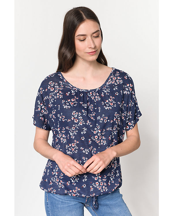 dunkelblau Shirt fransa Shirt T fransa T Omnice dunkelblau Omnice ZxwSqxURO