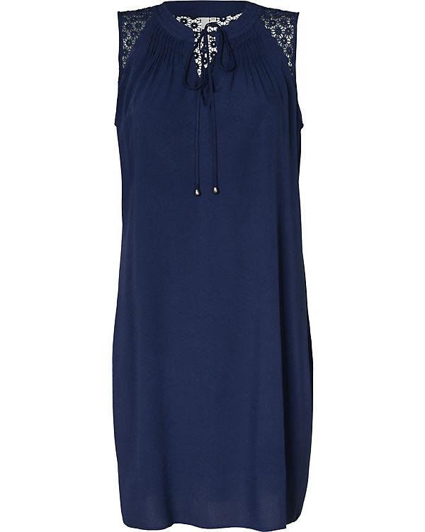 Q/S Blusenkleid blau