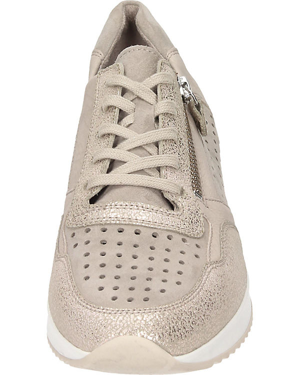 beige Low Sneakers Gabor Gabor Sneakers Low 4XwqUR