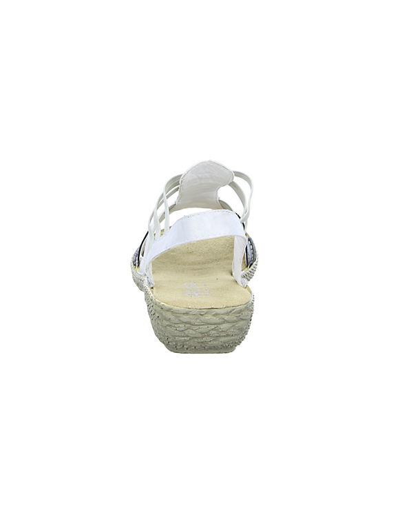 Alyssa L6560P Klassische Sandaletten grau
