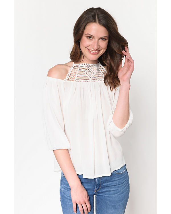 weiß Shirt Shoulder weiß Off Shirt ONLY ONLY Off Shoulder Zrtfrq