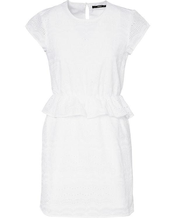 ONLY weiß ONLY Kleid ONLY weiß Kleid 7xTanxB
