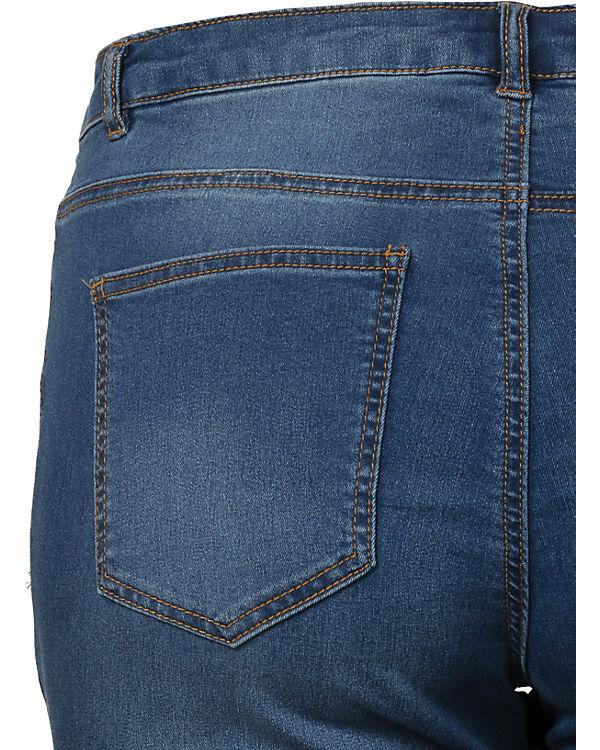 JUNAROSE blue denim Jeans dark Straight Hq7qnwUxPX