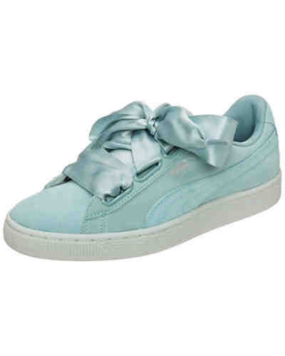 Suede Heart Pebble Sneakers Low