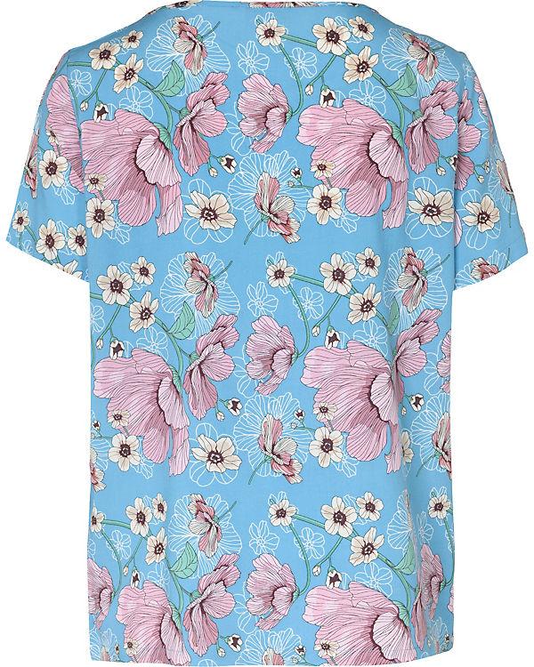 Blusenshirt blau de kombi Yong Jacqueline w4vEn6SqA