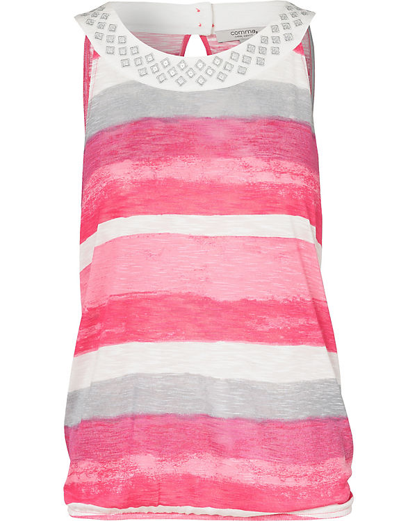 Comma Identity Comma pink Top Casual Top Identity Casual vFAwCq1Pv