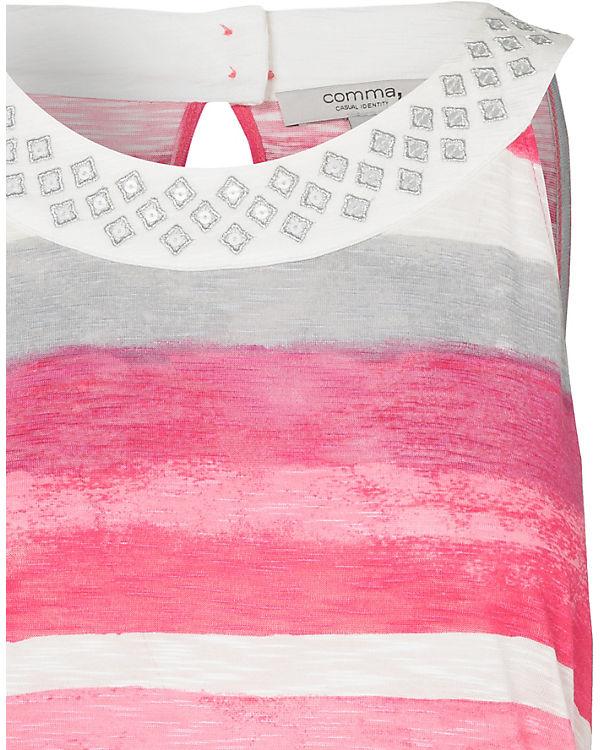 Casual Top Comma Comma pink Identity Identity pink Top Comma Casual Casual ABxRq0SwH